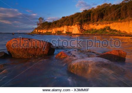 Baltic Sea, Insel Poel, coast, - Stock Photo