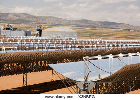 Andasol 1 The First Solar Parabolic Trough Power Plant In