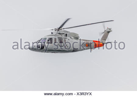 Helicopter Sikorsky S-76C - Stock Photo