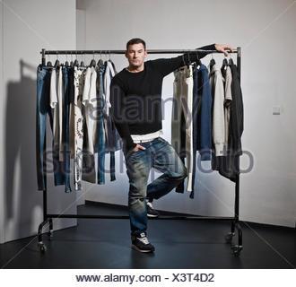 Michael Michalsky, fashion designer, Berlin - Stock Photo