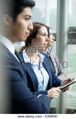Business team inside office - Stock Photo