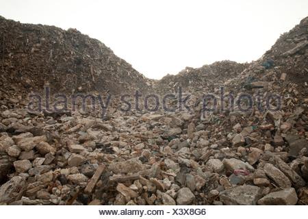 Landfill site - Stock Photo