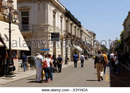 Corso Garibaldi, Reggio di Calabria, Calabria, Italy, Europe - Stock Photo