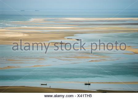 Coast at Inhaca Island, Mozambique, Africa - Stock Photo