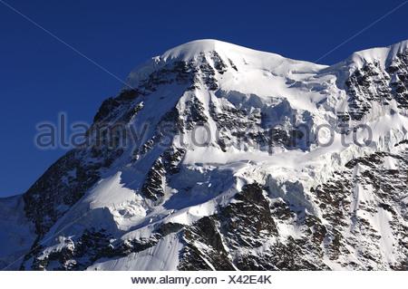Peak Breithorn, Zermatt - Stock Photo