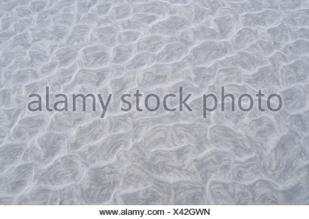 Ripples in the mud, Langeoog, Germany, Europe - Stock Photo