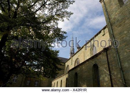 St.-Patrokli-Dom, Nordrhein-Westfalen, Deutschland, Soest - Stock Photo