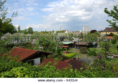 Community Gardens - Stock Photo