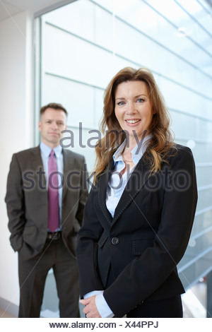 Portrait of business colleagues - Stock Photo