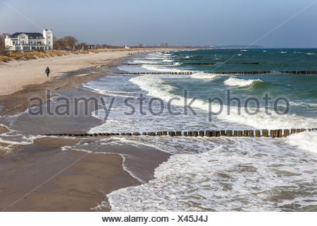 geography / travel, Germany, Mecklenburg-West Pomerania, on the beach at Heiligendamm, Additional-Rights-Clearance-Info-Not-Available - Stock Photo
