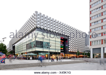 Centrum department store, Centrum Galerie shopping center, Saxony, Germany, Europe, PublicGround - Stock Photo