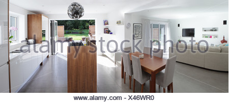 Open plan living - Stock Photo