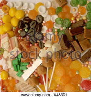 Assortment of sweets - Stock Photo