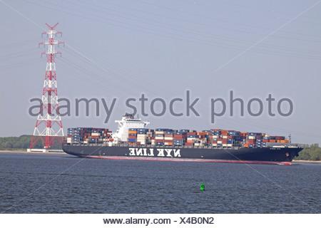 Containership NYK VESTA - Stock Photo