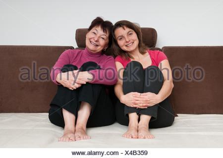 woman humans human beings people folk persons human human being portrait person daugther daughter girl girls senior senior - Stock Photo