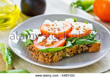 food aliment bread - Stock Photo