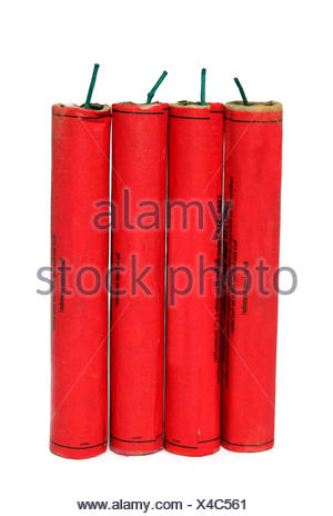 loud rockets release - Stock Photo