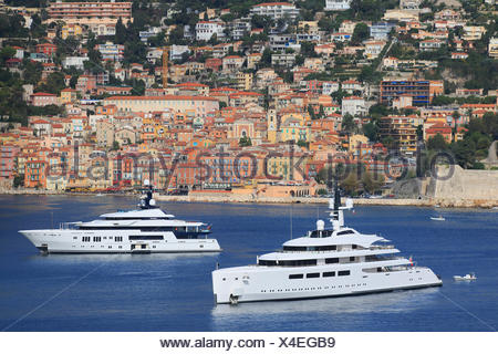 Vava II, a cruiser built by Pendennis Plus, formerly Devenport Yachts, length: 96 m, built in 2012, owned by Ernesto Bertarelli, - Stock Photo