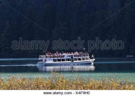 lake weissensee, carinthia, austria - Stock Photo
