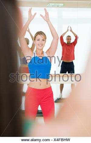 Fitness class - Stock Photo