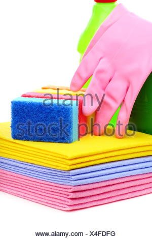 Tools for house cleaning. - Stock Photo