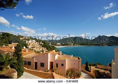 Baixada de Cal Rei Canyamel Mallorca Baleares Spain Llevant - Stock Photo
