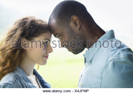 A young man and woman a couple. - Stock Photo