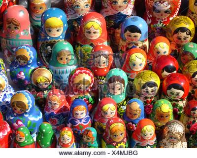 Russian Matroschka / Babuschka - Stock Photo