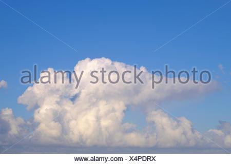 Cumulonimbus clouds, Tenerife, Spain - Stock Photo