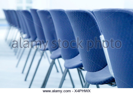 Row of chairs - Stock Photo