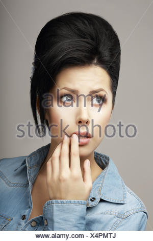 woman, humans, human beings, people, folk, persons, human, human being, hand, - Stock Photo