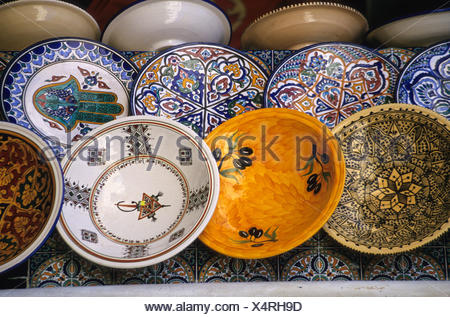 Variety of Designs on Ceramic Plates Bowls. - & Ceramics Nabeul Tunisia. Variety of Designs on Ceramic Plates ...