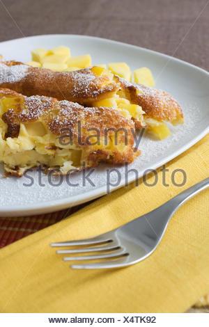 Mango Omelett - Mango Omelette - Stock Photo