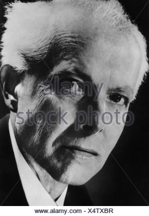 Bartok, Bela 25.3.1881 - 26.9.1945, Hungarian composer, portrait, , Additional-Rights-Clearances-NA - Stock Photo