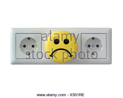 Steckdosen / electric sockets - Stock Photo