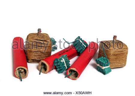 green loud rockets - Stock Photo