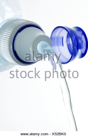 Bottled mineral water. - Stock Photo