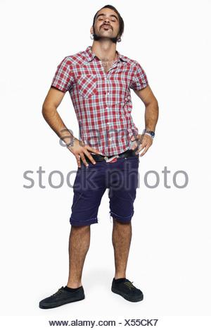 Arrogant young man - Stock Photo