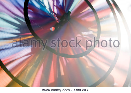 Close up of a pin wheel - Stock Photo