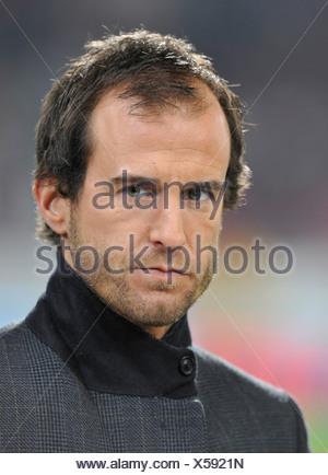Portrait of the former member of the German national soccer team Mehmet Scholl - Stock Photo