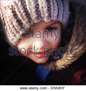Portrait of child - Stock Photo