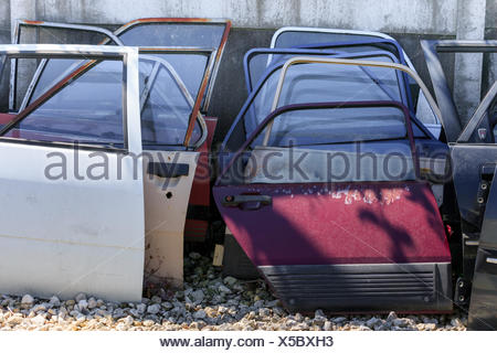 Many car doors for aftermarket. - Stock Photo & Many car doors for aftermarket Stock Photo: 127726121 - Alamy