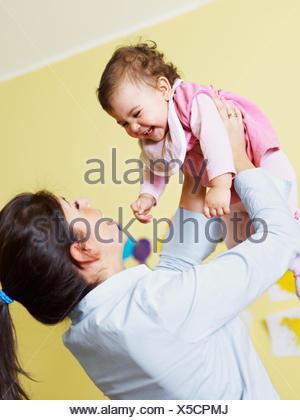 woman laugh laughs - Stock Photo
