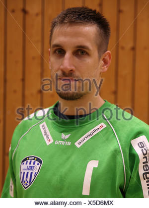 Thomas Bauer, TBV Lemgo - Stock Photo
