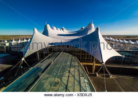 The Tent Like Roof Of The Jeppesen Terminal Denver