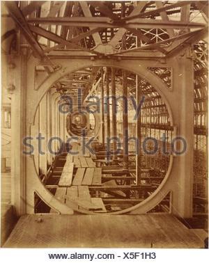 The Upper Gallery. Artist: Philip Henry Delamotte (British, 1821-1889); Date: 1854; Medium: Albumen silver print from glass negative; Dimensions: - Stock Photo