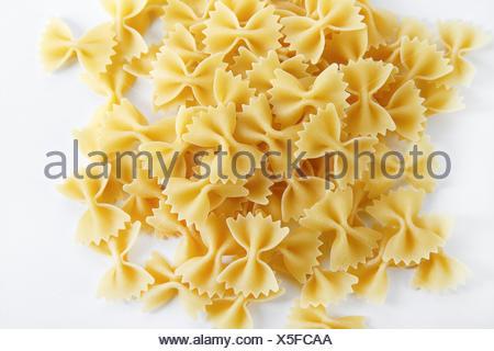 Bow tie pasta - Stock Photo