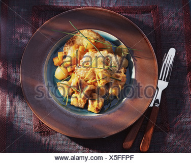 Chicken Snacks and Crunchy Sesam Seeds Cookies - Stock Photo