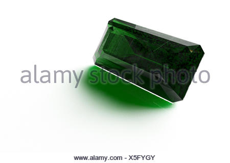 Chromium Tourmaline from Brazil - Stock Photo
