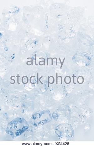 Many ice cubes - Stock Photo